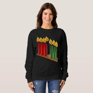 african kwanzaa womens sweatshirt