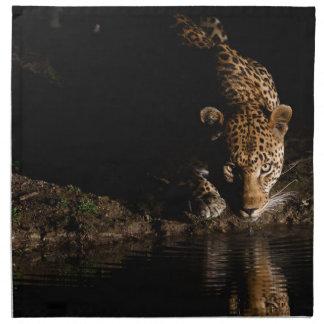 African Leopard Napkin