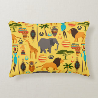African lifestyle accent pillow