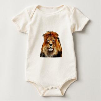 African Lion Baby Bodysuit