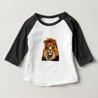 African Lion Baby T-Shirt