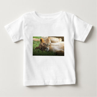 African Lion Cub Baby T-Shirt