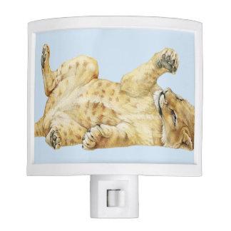 African Lion Cub Nite Light
