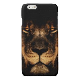 African Lion Face Art
