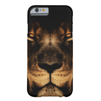 African Lion Face Art Barely There iPhone 6 Case