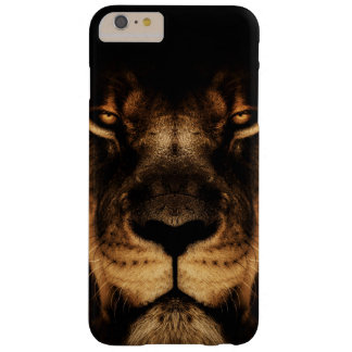 African Lion Face Art Barely There iPhone 6 Plus Case
