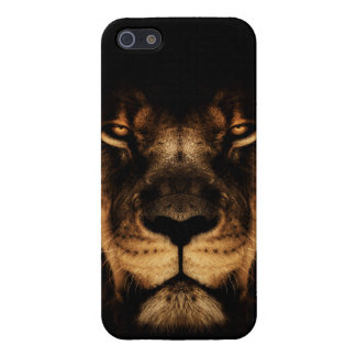 African Lion Face Art iPhone 5 Cover