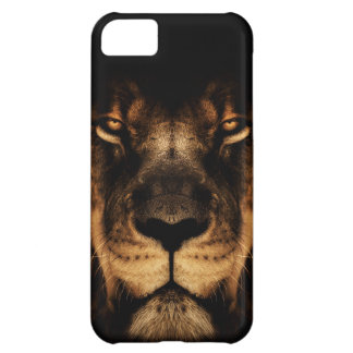 African Lion Face Art iPhone 5C Cover