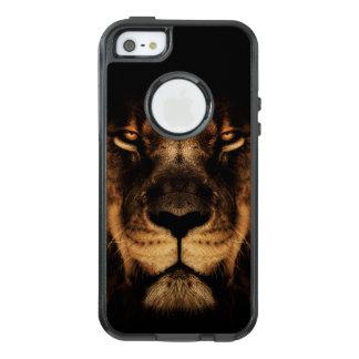 African Lion Face Art OtterBox iPhone 5/5s/SE Case
