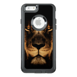 African Lion Face Art OtterBox iPhone 6/6s Case