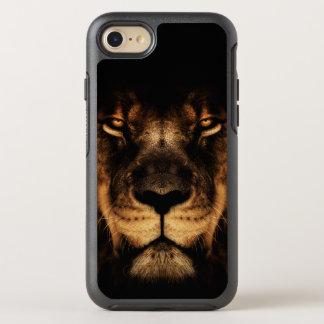 African Lion Face Art OtterBox Symmetry iPhone 8/7 Case