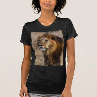 African Lion in Grass T-Shirt