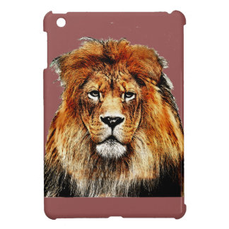 African Lion iPad Mini Cover