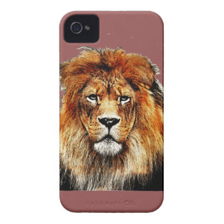 African Lion iPhone 4 Cover
