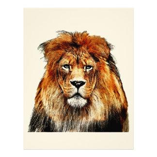 African Lion Letterhead