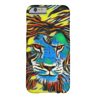 African Lion Oil Urban Graffiti Street iPhone Case