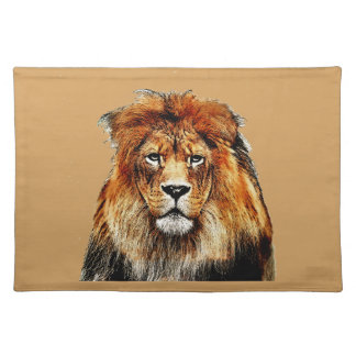 African Lion Placemat