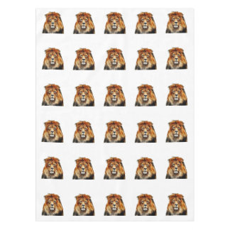 African Lion Tablecloth