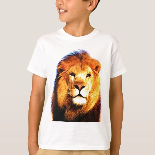 African lion tee shirts zazzle for Bc lions t shirts