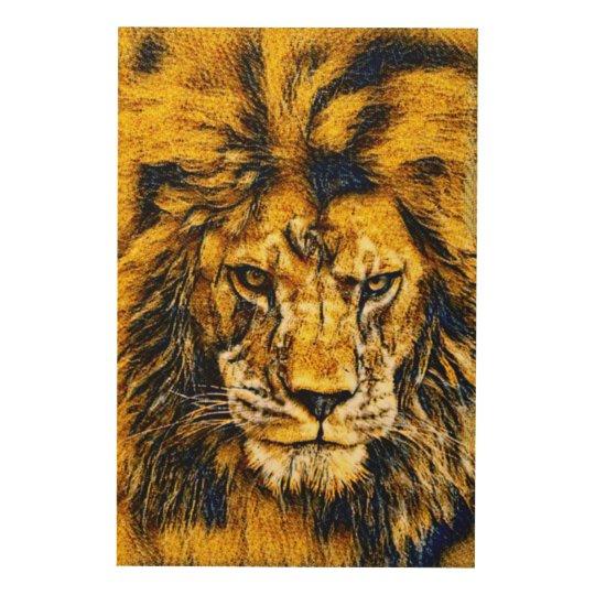 African Lion Wildlife Art