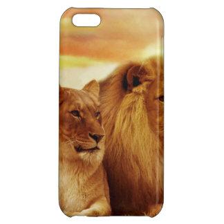 African lions - safari - wildlife case for iPhone 5C