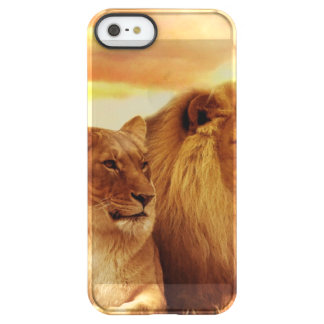 African lions - safari - wildlife permafrost® iPhone SE/5/5s case