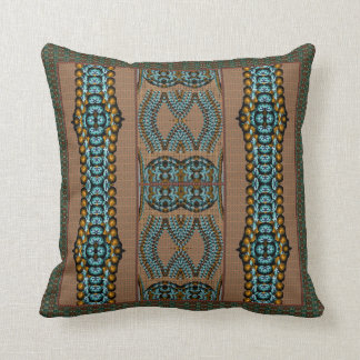 African Lore Throw Pillow