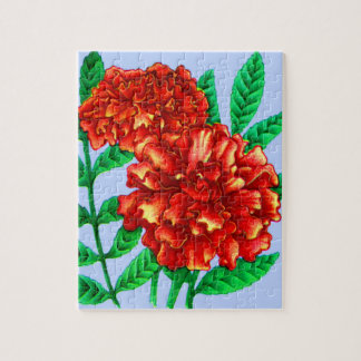 African marigolds jigsaw puzzle