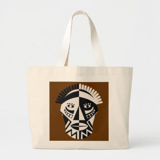 African Mask Bags