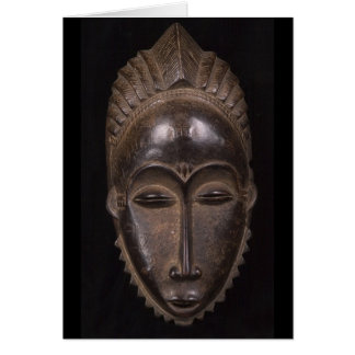 African Mask. Card by cARTerART