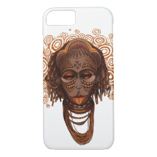 African mask iPhone 8/7 case