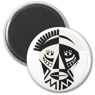 African Mask Magnets
