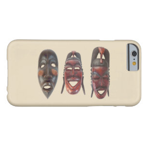 African Masks Barely There iPhone 6 Case
