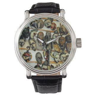 African Masks Watch
