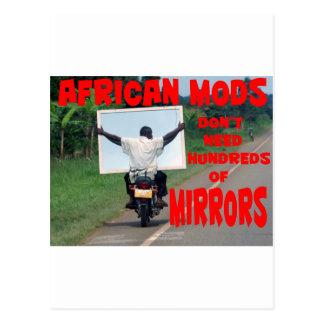 african mods postcard
