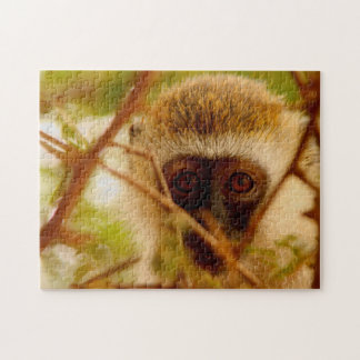 African Monkey. Jigsaw Puzzle