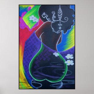 African Moon - Miami Tile Print