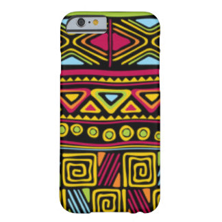 African Multi Color Pattern Print Design Barely There iPhone 6 Case