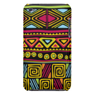 African Multi Color Pattern Print Design Barely There iPod Cases