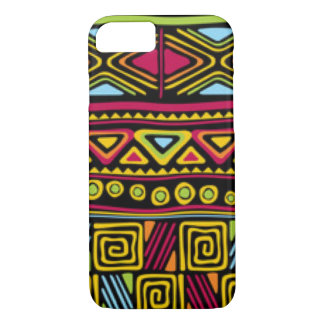 African Multi Color Pattern Print Design iPhone 8/7 Case