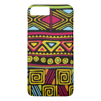 African Multi Color Pattern Print Design iPhone 8 Plus/7 Plus Case