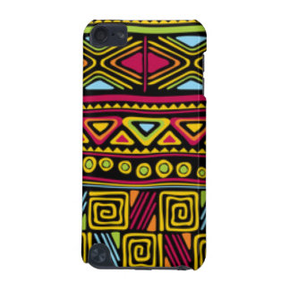 African Multi Color Pattern Print Design iPod Touch (5th Generation) Cover