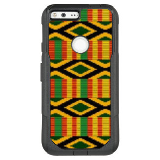 African Multi Color Pattern Print Design OtterBox Commuter Google Pixel XL Case
