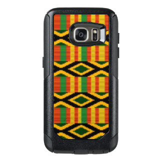 African Multi Color Pattern Print Design OtterBox Samsung Galaxy S7 Case