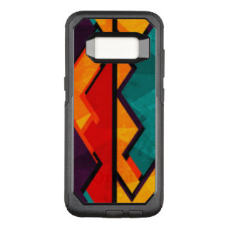African Multi Colored Pattern Design OtterBox Commuter Samsung Galaxy S8 Case