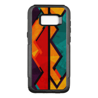 African Multi Colored Pattern Design OtterBox Commuter Samsung Galaxy S8+ Case