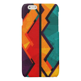 African Multi Colored Pattern Print Design