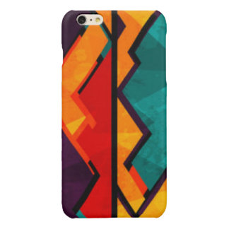 African Multi Colored Pattern Print Design