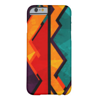 African Multi Colored Pattern Print Design Barely There iPhone 6 Case