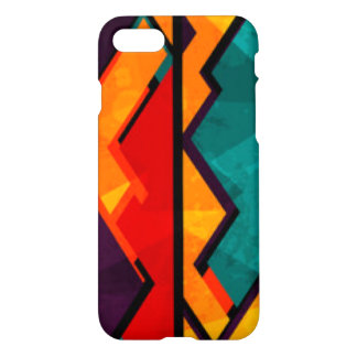 African Multi Colored Pattern Print Design iPhone 8/7 Case